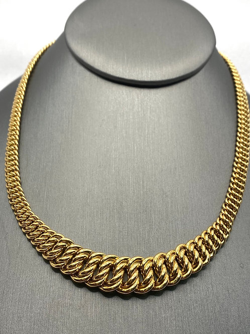 14KT Gold Panther necklace