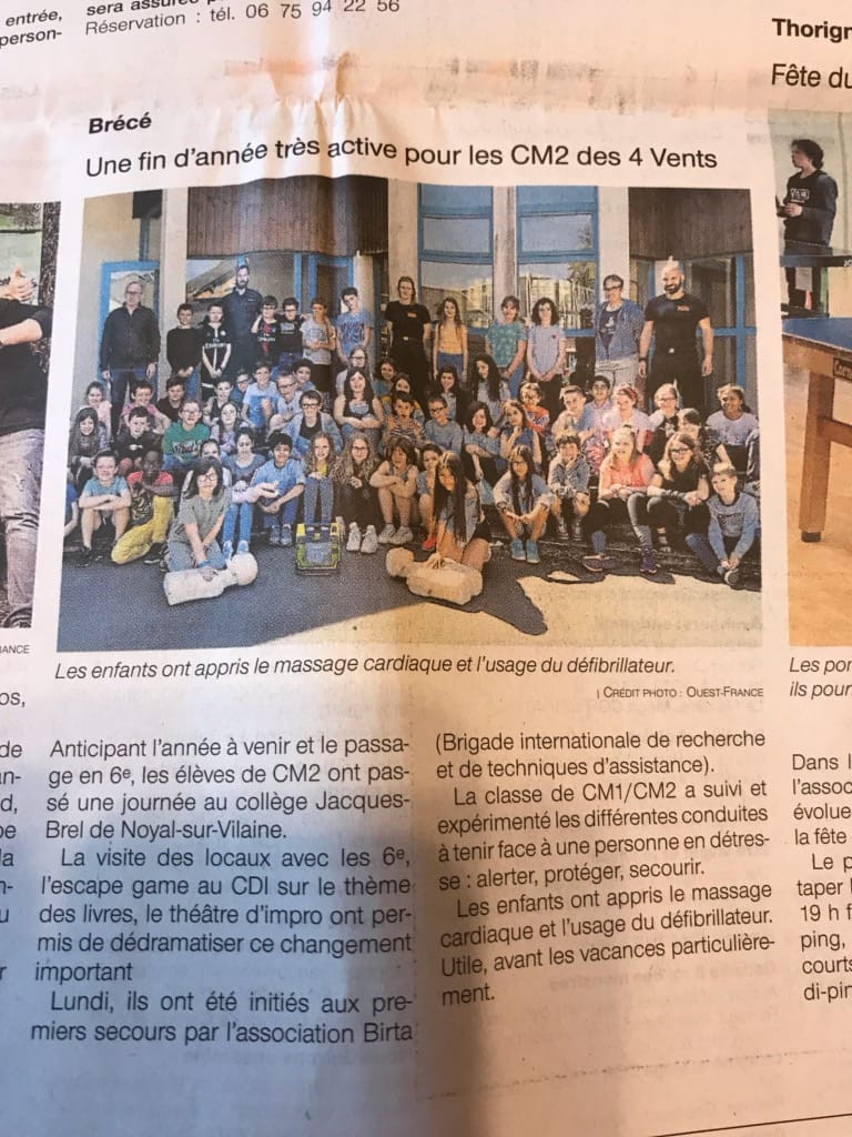 Ouest France édition du 19-06-2019