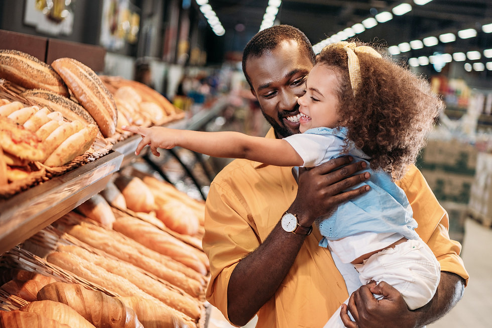father and daughter diabetes carbs
