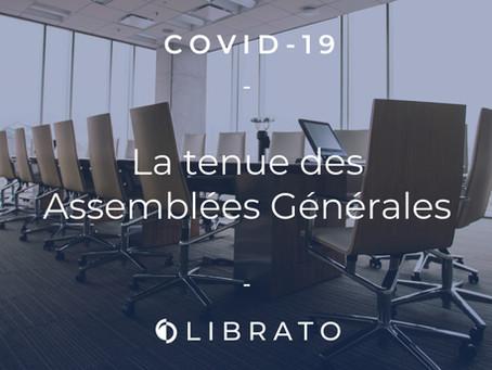Covid-19 : La tenue des AG