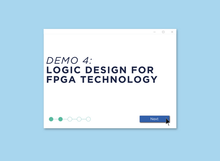 Demo 4: Logic Design for FPGA Technology