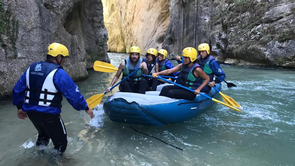 Rafting Umbria a Serravalle di Norcia
