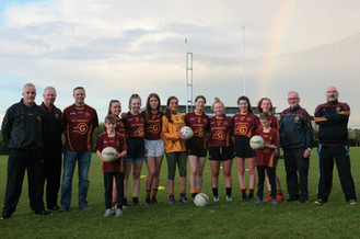 New sponsor for the Ladies Minor Football Team - Get Property.ie