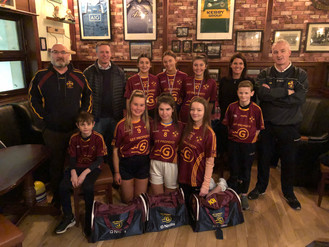 Continued sponsorship for the Ladies Minor Football Team - Get Property.ie