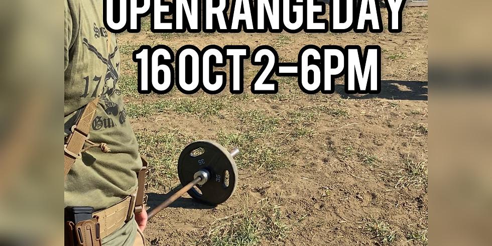 Open Range Day (#REDZONETRAINING)