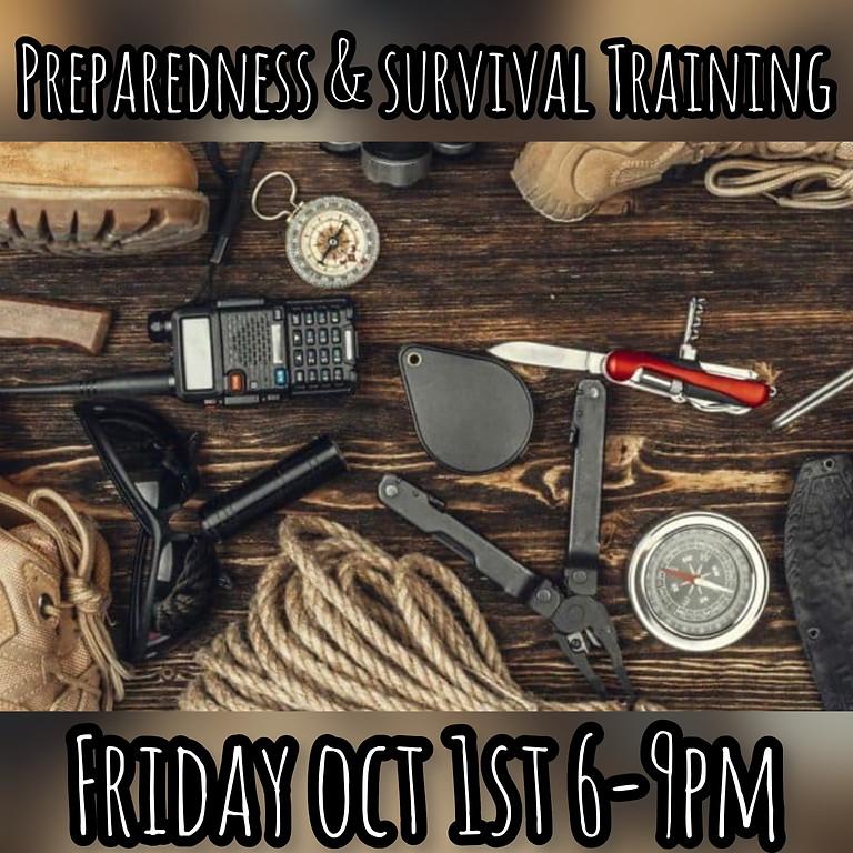 Preparedness and Survival Training Part I