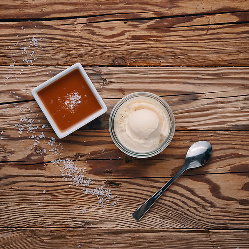 Karamell-Fleur de Sel Milcheis 500ml