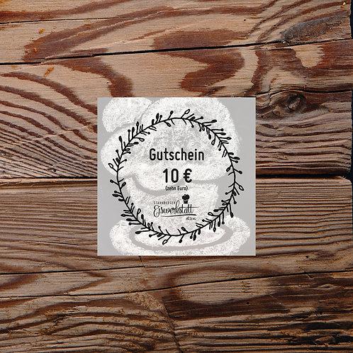 10 EURO-Gutschein für unseren Eisladen per Post