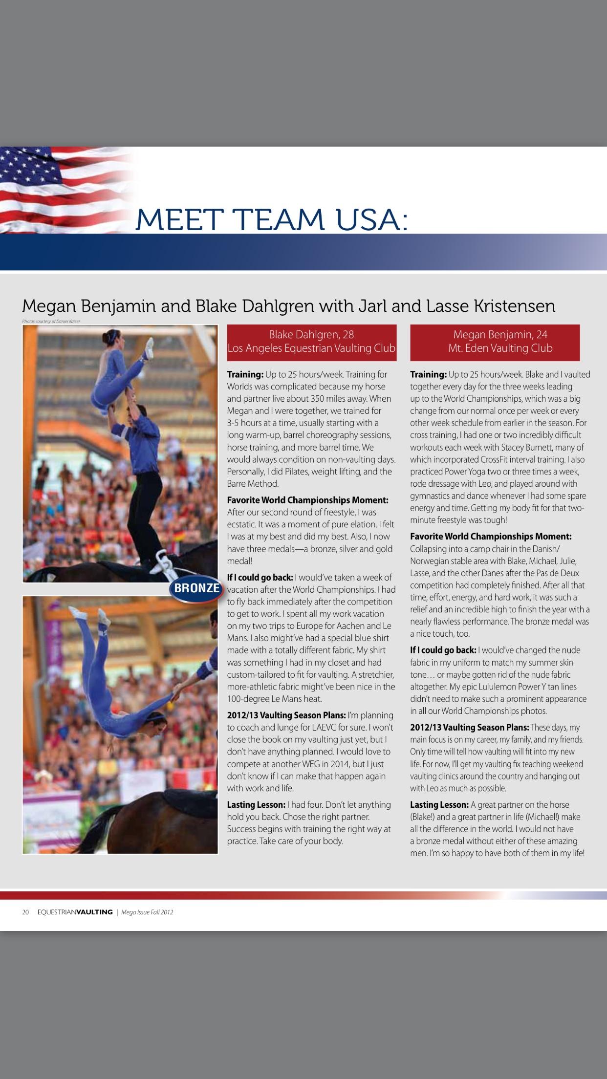 Blake Dahlgren and Megan Benjamin