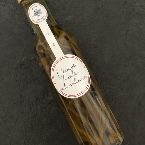 Vinaigre de cidre à la salicorne