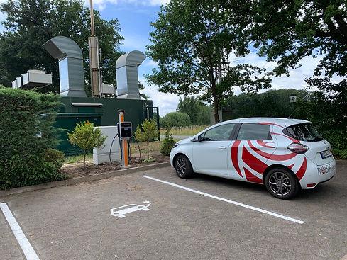 Gasthaus Rose umweltbewusst laden aus der Velager Biogasanlage