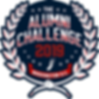 The-Alumni-Challenge-Logo Navy-Backgroun