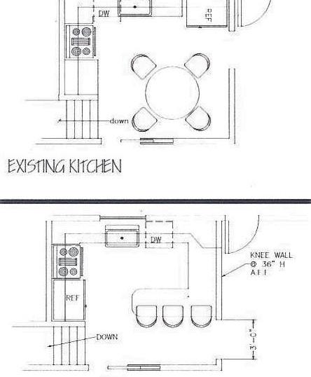 Kitchen 3 Plan