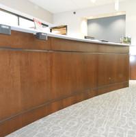 Lobby 1 Desk Detail