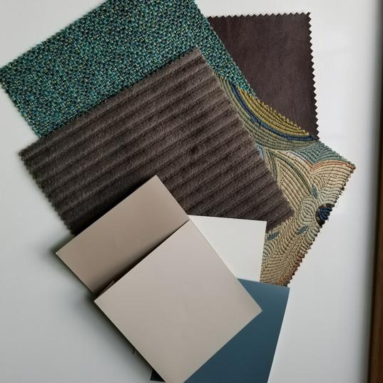 Fabrics & Paints
