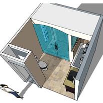 Bathroom study sketch
