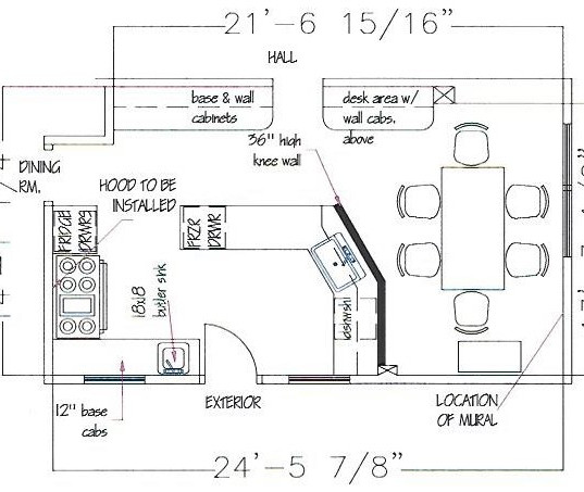 Kitchen 2 Plan