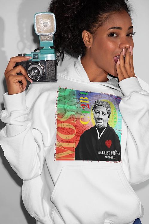 Harriet Tubman Pullover Hoodie