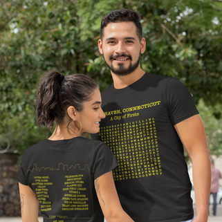 A City Of First Crossword Puzzle Tee
