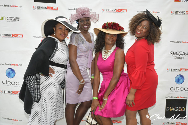 Ethnic Online's 5th AnnualKentucky Derby Day Party May 4, 2019 : Blake Hotel Rooftop: New Haven, CT