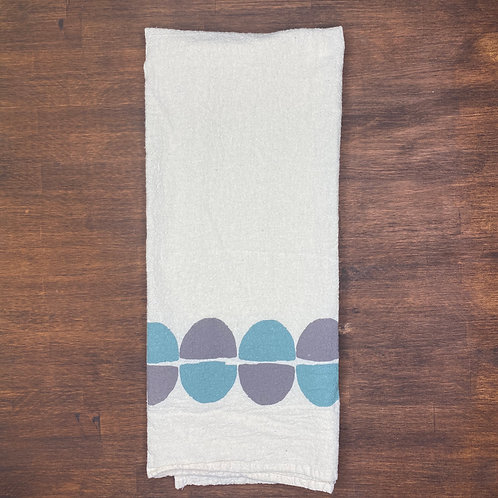 Semi Circle Flour Sack Towel
