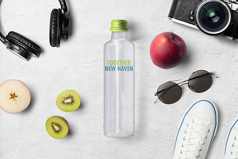 Shop Together New Haven Stores Water Bottle Example