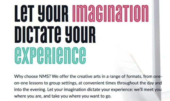 Let Your Imagination Dictate Your Experience