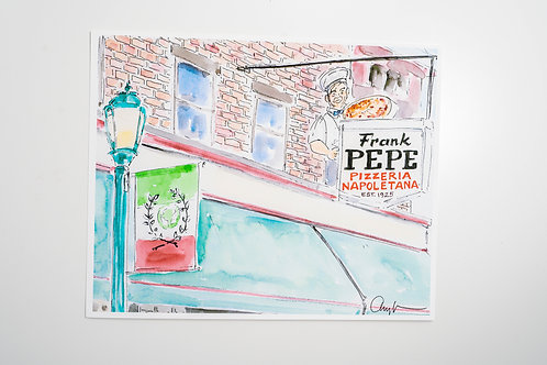 Frank Pepes Pizza Print