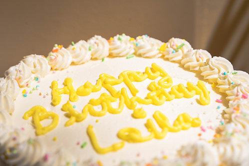 6 Inch White Cake