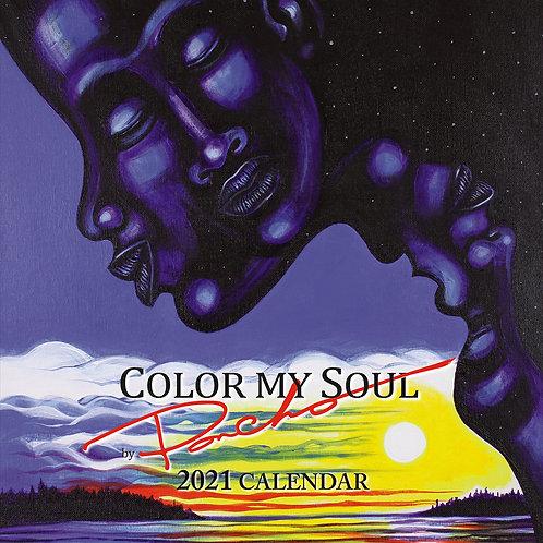Color My Soul 2021 African American Wall Calendar