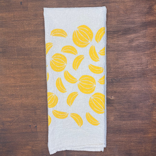 Citrus Flour Sack Towel