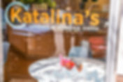 Katalina's Bakery and Coffee Shop New Have storefront window