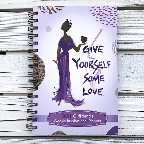 Girlfriends 2021 Weekly Inspirational Planner