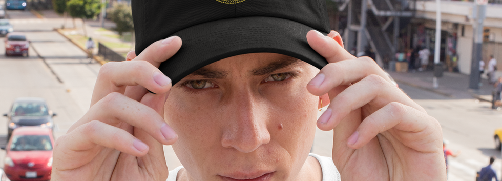 mockup-of-a-young-man-wearing-a-dad-hat-