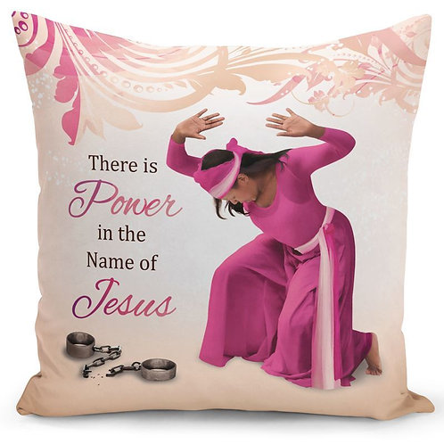 Power in Jesus Pillow Cover