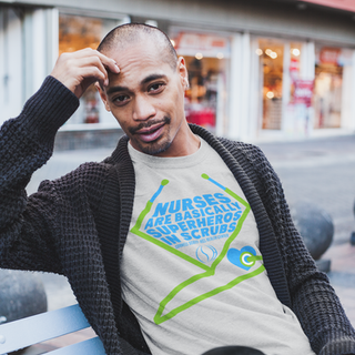 heathered-t-shirt-mockup-of-a-pensive-ma