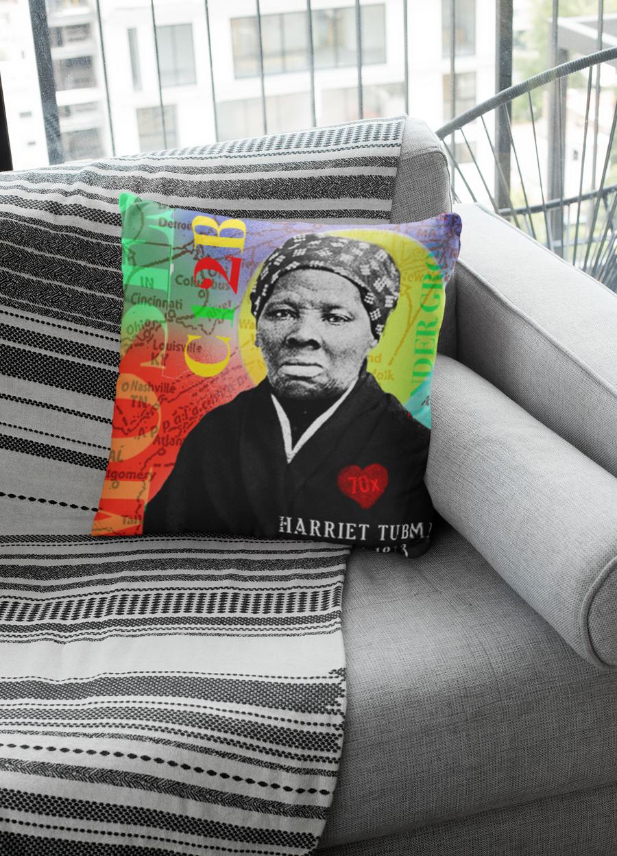 Harriet Tubman Pillow