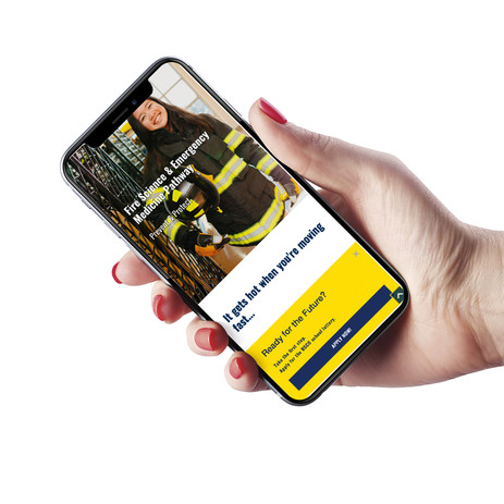 Mobile Responsive Recruitment Site