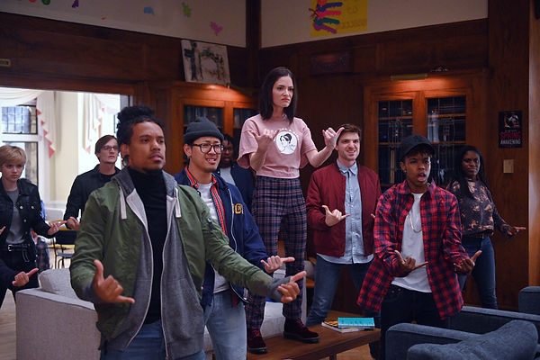 Deaf West Theatre actors perform ASL on Zoey's Extraordinary Playlist (NBC)