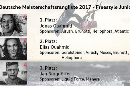 Jonas Ouahmid – Deutscher Meister im Freestyle der Junioren 2017!