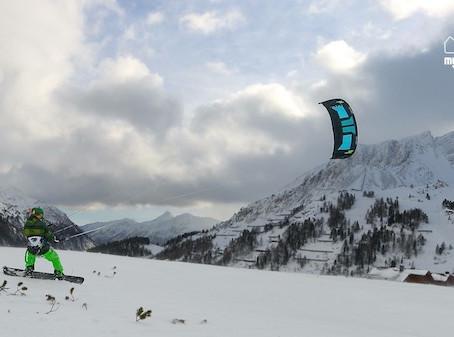 Snowkiten – die Alternative für die kalte Jahreszeit