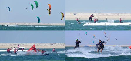 Qualifikation in Dakhla für die YOG im Kitesurfing Slalom / Boardercross