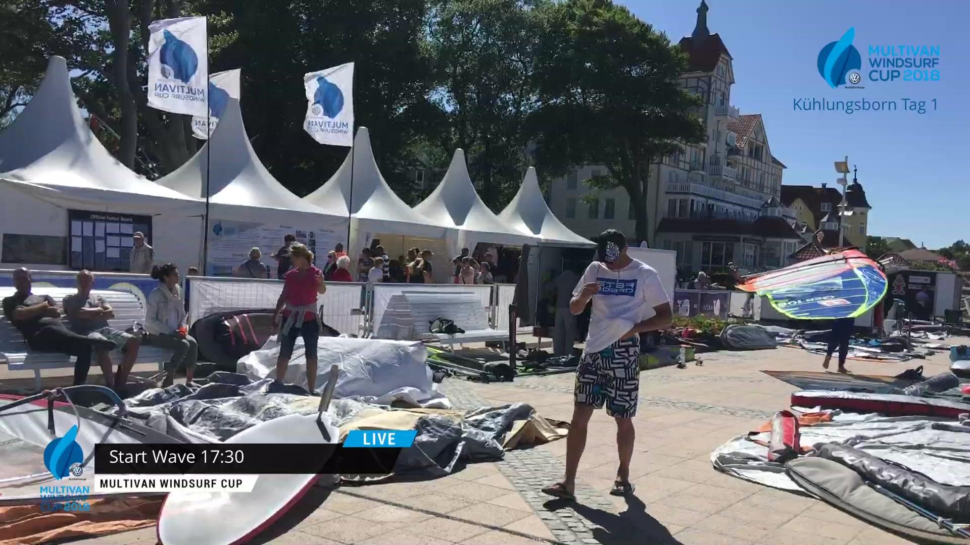 Multivan Windsurf Cup Kühlungsborn - Tag 1