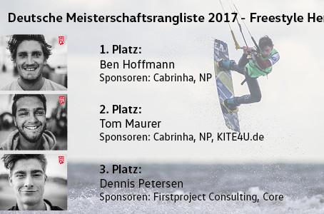 Platz 1 im Freestyle sichert sich Ben Hoffmann!