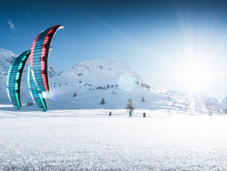 Volkswagen Nutzfahrzeuge ist Titelsponsor beim Amarok Snowkite Worldcup