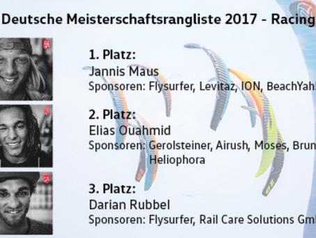 Jannis Maus ist Deutscher Meister im Racing 2017!