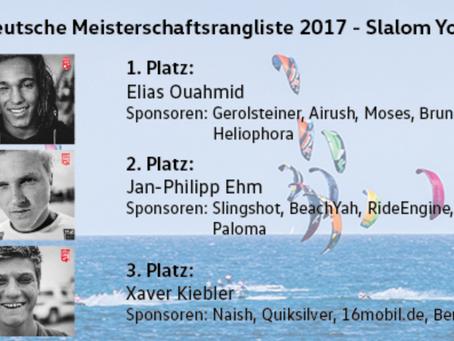 Platz 1 im Slalom geht an Elias Ouahmid!