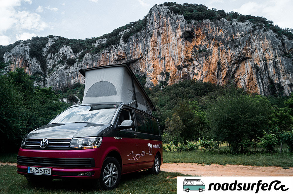 Roadsurfer Campervan