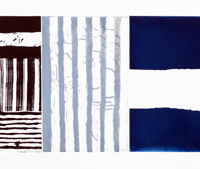 Gap.(three plate blue)