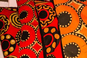 Ukuthula African Print Pillows